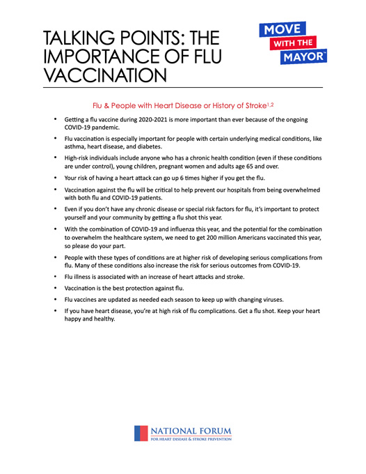 thumbnail for Talking Points: The Importance of Flu Vaccination