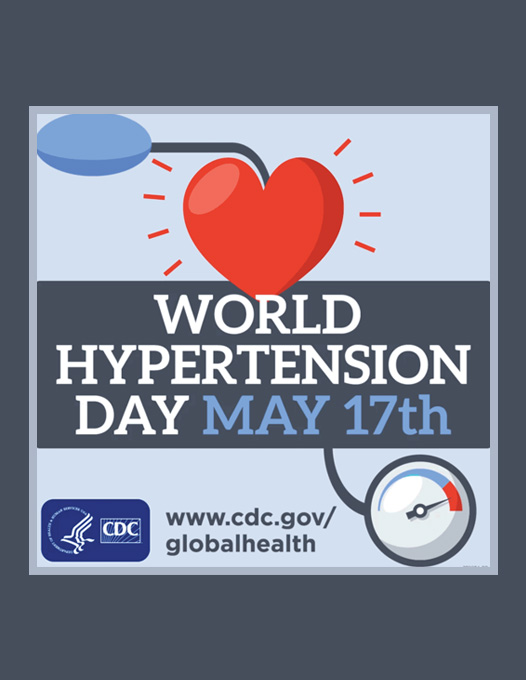 thumbnail for May – Hypertension and Stroke Awareness Month Sample Messaging